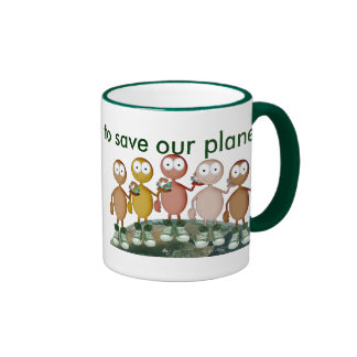 Working together coffee mug