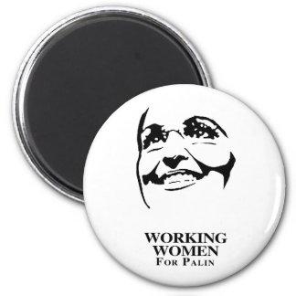 WORKING WOMEN FOR PALIN FRIDGE MAGNET