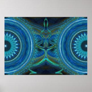 Workings Kaleidoscope Poster