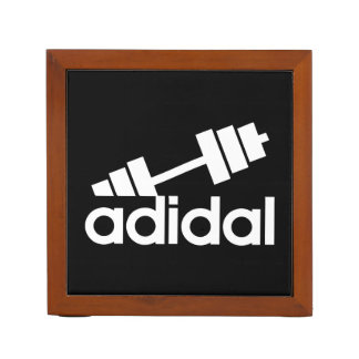 Workout - All Day I Dream About Lifting - Barbell Desk Organiser