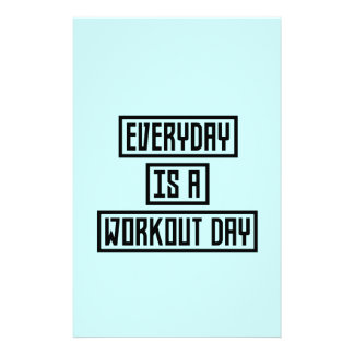 Workout Day fitness Z2y22 14 Cm X 21.5 Cm Flyer
