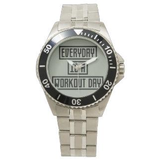Workout Day fitness Z2y22 Wrist Watch