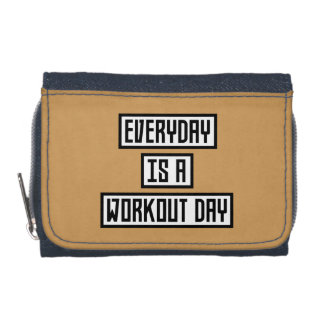 Workout Day fitness Zx41w Wallet