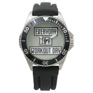 Workout Day fitness Zx41w Wrist Watch