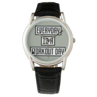 Workout Day fitness Zx41w Wrist Watches