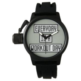 Workout Day fitness Zx41w Wristwatch