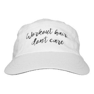 Workout Hair Don't Care Woven Hat