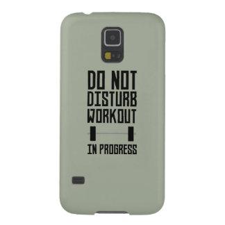 Workout in Progress  Zzu78 Galaxy S5 Case