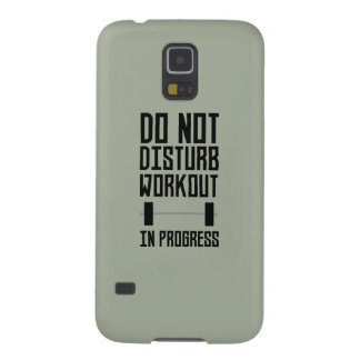 Workout in Progress  Zzu78 Galaxy S5 Cover