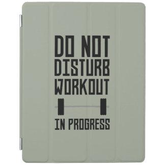 Workout in Progress  Zzu78 iPad Cover