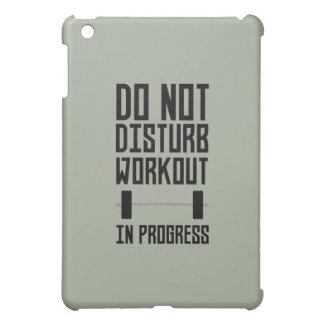 Workout in Progress  Zzu78 iPad Mini Cover