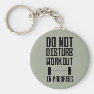 Workout in Progress  Zzu78 Key Ring