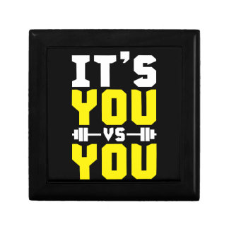 Workout Inspiration - It's You vs You - Gym Gift Box