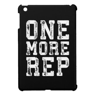 Workout Inspiration - One More Rep - Motivational iPad Mini Case