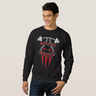 Workout Monster Sweatshirt