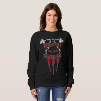 Workout Monster Sweatshirt