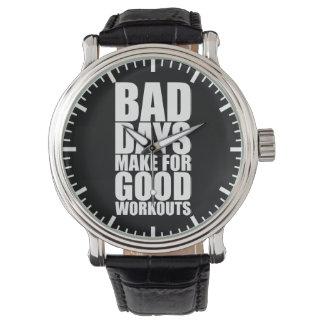 Workout Motivation - Bad Days Make Good Workouts Watch