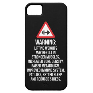 Workout Motivation - WARNING - Benefits Of Lifting Case For The iPhone 5