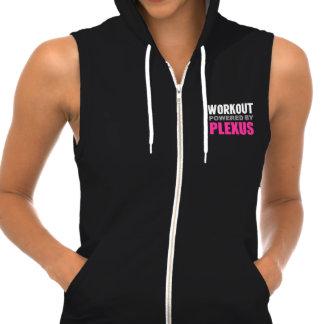 Workout powered by Plexus Sleeveless Hoodie