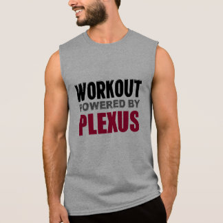 Workout powered by Plexus Sleeveless Muscle Shirt