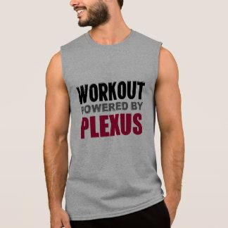 Workout powered by Plexus Sleeveless Muscle Shirt Sleeveless T-shirts