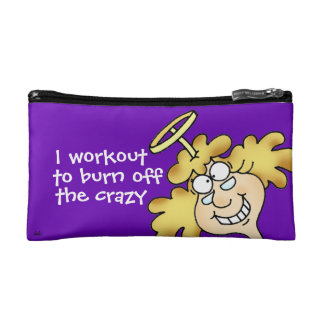 Workout To Burn Off The Crazy Cosmetic Bag