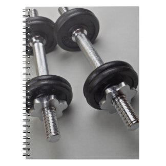Workout weights notebook