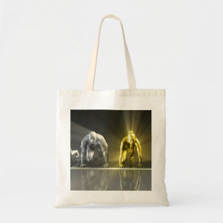 Workplace Gender Equality in a Business or Career Budget Tote Bag