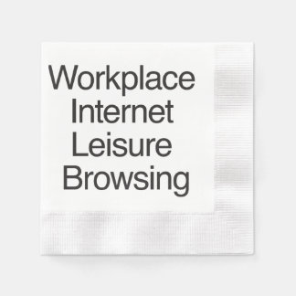 Workplace Internet Leisure Browsing.ai Paper Napkin