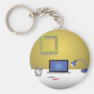 workplace lamp key ring