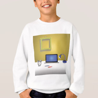 workplace lamp sweatshirt
