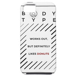 Works Out Loves Donuts iPhone 5 Covers