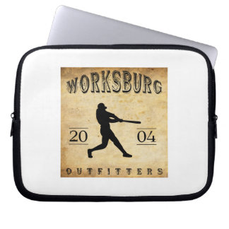 Worksburg Outfitters Baseball #1 Laptop Computer Sleeves