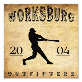 Worksburg Outfitters Baseball 1 Photograph
