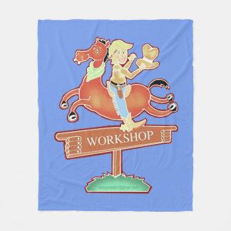 Workshop Cowboy medium blanket