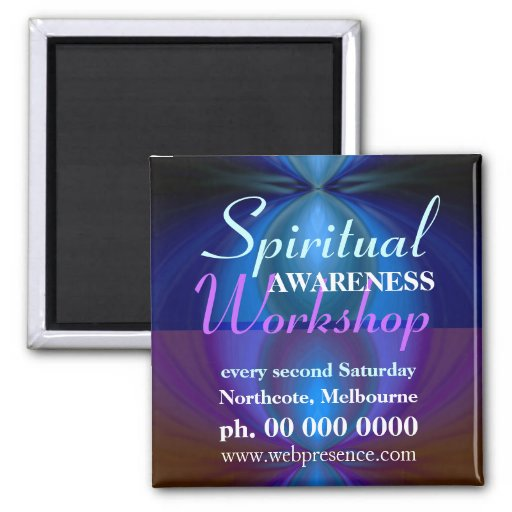 Workshop Promote Reminders Magnet
