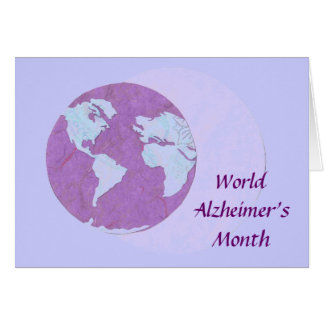 World Alzheimer's Month - September Card