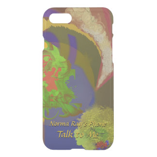 World Apart Exciting Abstract with Your Text iPhone 8/7 Case