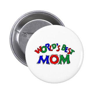 World's Best Mum 6 Cm Round Badge