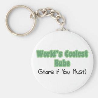 World's Coolest Bube Keychain