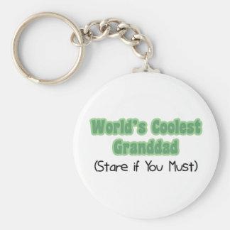 World's Coolest Granddad Key Chains