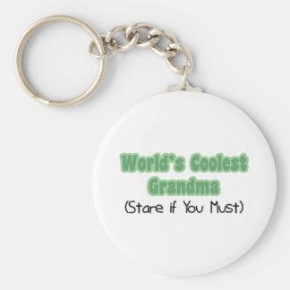 World's Coolest Grandma Key Chain