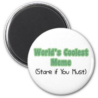 World's Coolest Meme Refrigerator Magnet