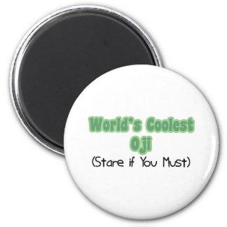 World's Coolest Oji Refrigerator Magnets