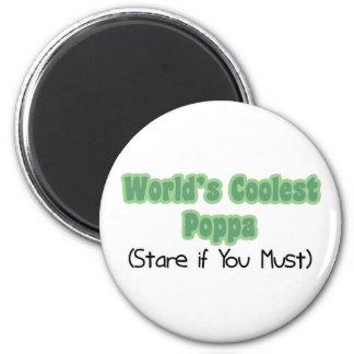 World's Coolest Poppa Magnets