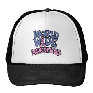 World Awareness Breast Cancer Hat