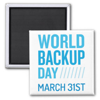 World Backup Day Magnet