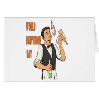 World Bartender Day - Appreciation Day Card