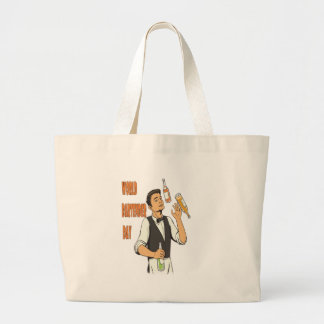 World Bartender Day - Appreciation Day Large Tote Bag