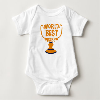 World Best Baby Family Couple Baby Jersey Bodysuit